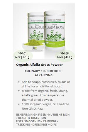 Alfalfa Grass.ca - NuBeLeaf Powder Mini-18