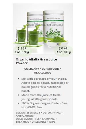 Alfalfa Grass (Juice).ca - NuBeLeaf Powder Mini-19