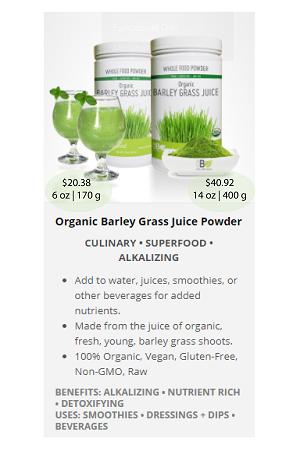 Barley Grass Juice.ca - NuBeLeaf Powder Mini-15