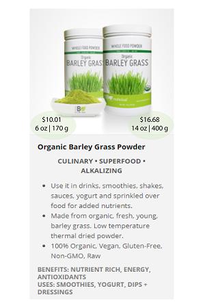Barley Grass Powder.ca - NuBeLeaf Powder Mini-14
