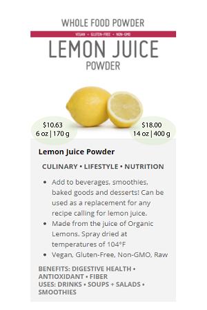 Lemon.ca(Juice) - NuBeLeaf Powder Mini-23