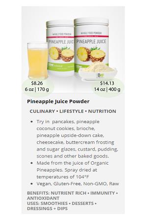 Pineapple(Juice).ca - NuBeLeaf Powder Mini-29