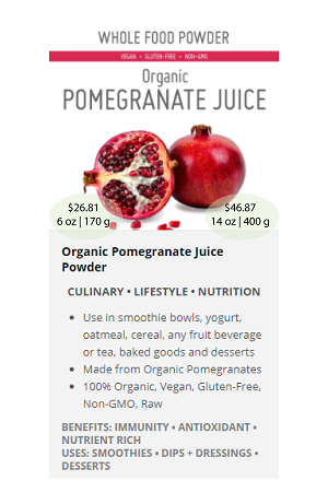 Pomegranate Juice.ca - NuBeLeaf Powder Mini-01-06