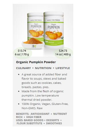 Pumpkin.ca - NuBeLeaf Powder Mini-30