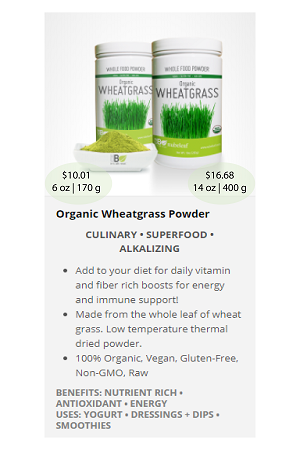 Wheatgrass.ca - NuBeLeaf Powder Mini-41